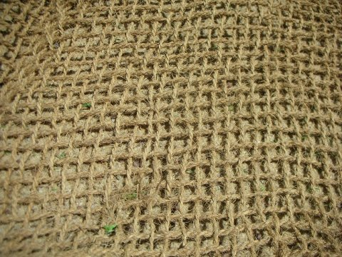 Woven coir blanket (Source: Coir Green - Environmentally Friendly)
