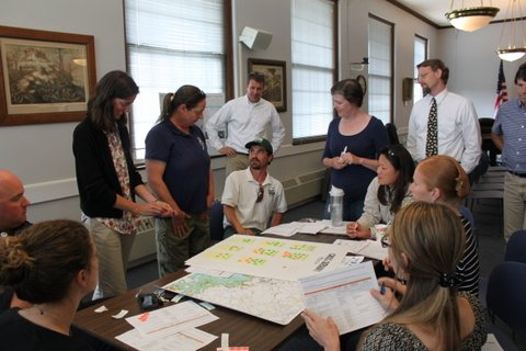 Task force working on the Great Marsh Resiliency Planning Project.