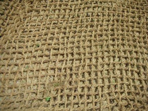 Woven coir blanket (Source: Coir Green - Environmentally Friendly)